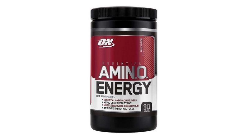 Essential Amino Energy là dòng sản phẩm chủ đạo của hãng ON giúp tăng cơ và phục hồi năng lượng