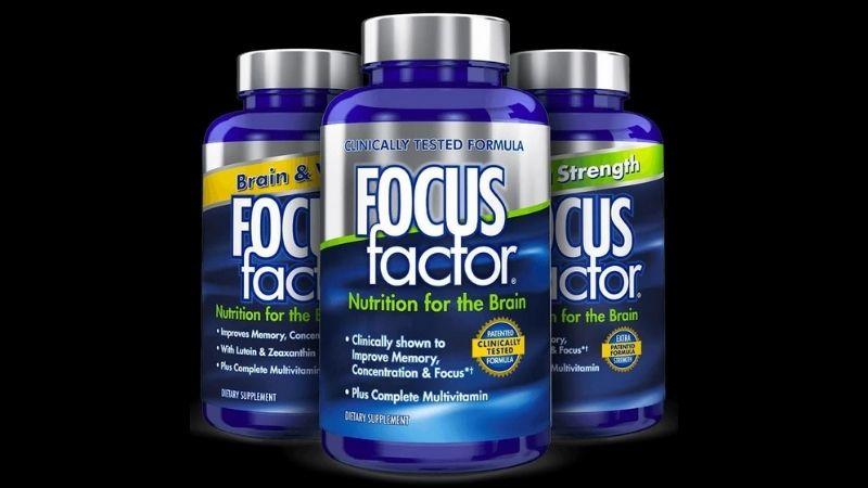 Focus Factor hiện đang là dòng sản phẩm cải thiện sức khỏe não bộ được nhiều người ưa chuộng