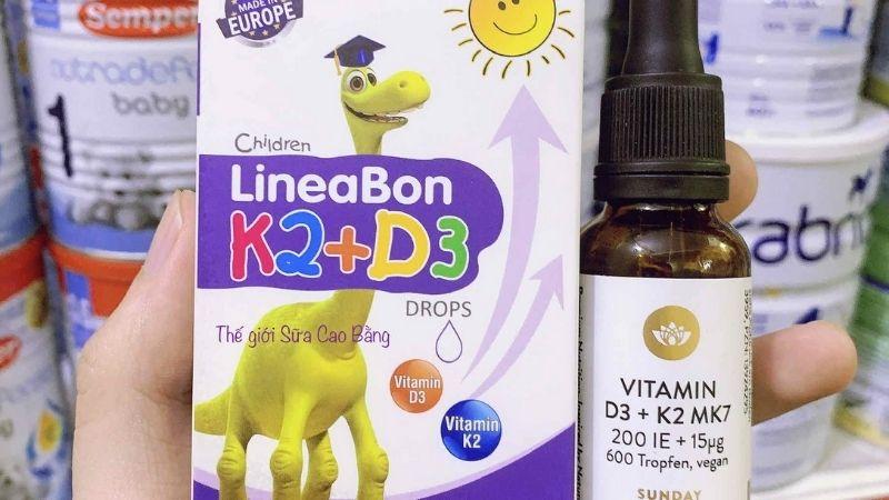 Thông tin sản phẩm LineaBon K2 + D3