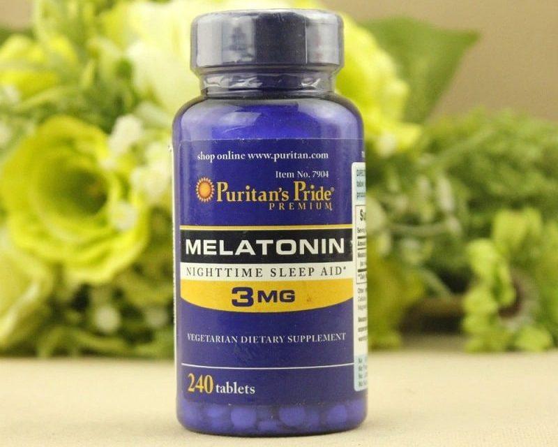 Melatonin 3mg Puritan's Pride hiện nay đang là dòng thực phẩm chức năng giúp cải thiện giấc ngủ rất tốt