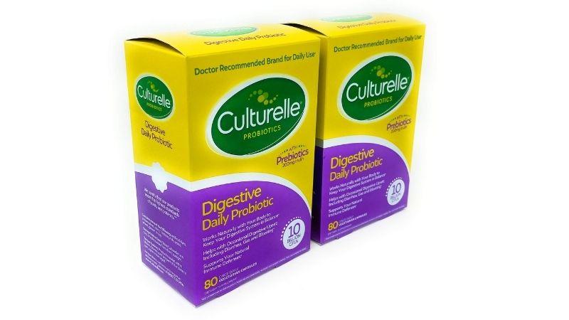 Viên uống hỗ trợ hệ tiêu hóa Probiotic Prebiotics 60 viên từ Culturelle Digestive Daily
