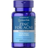 Viên uống kẽm hỗ trợ trị mụn Puritan'S Pride Premium Zinc For Acne 100 viên