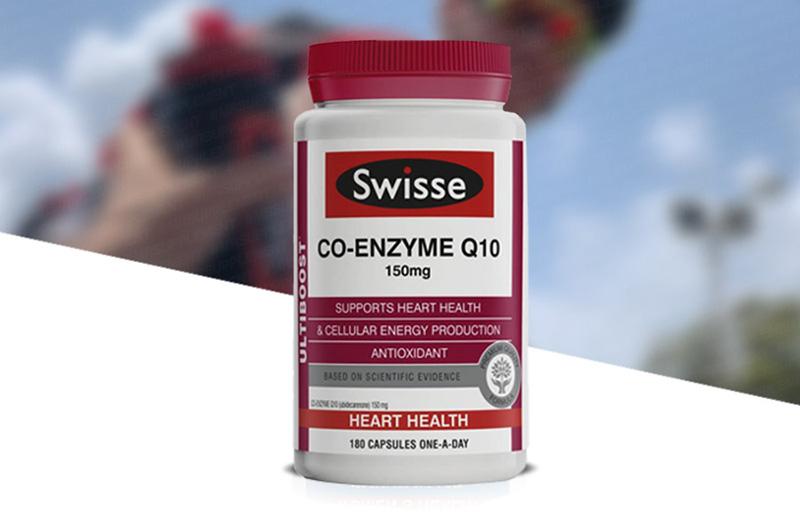 Thông tin về viên uống bổ tim Swisse High Strength CO-Enzyme