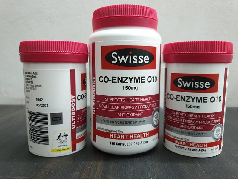 Viên uống bổ tim Swisse Co-Enzyme mang lại những lợi ích về sức khỏe