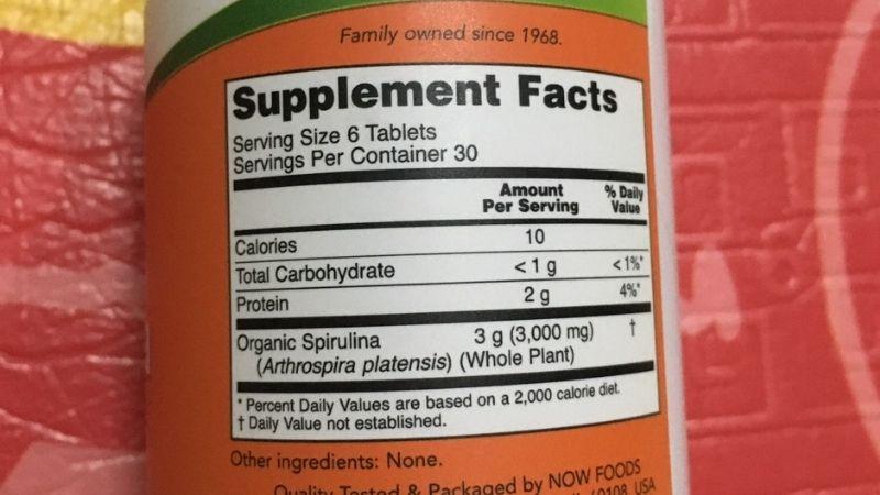 Các thành phần dinh dưỡng có trong sản phẩm