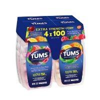 Tums Antacid Assorted Fruit 100 viên