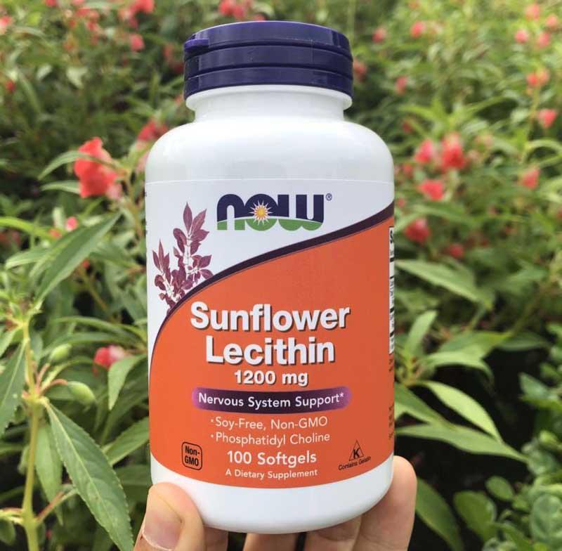 Viên uống chống tắc tia sữa Sunflower Lecithin được nhiều mẹ tin dùng