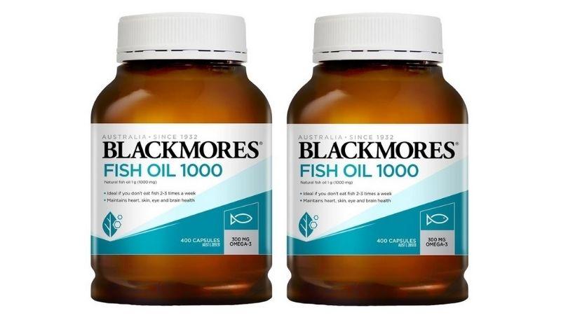 Viên uống dầu cá Blackmores Fish Oil 1000mg là sản phẩm được nhập khẩu chính hãng từ Úc