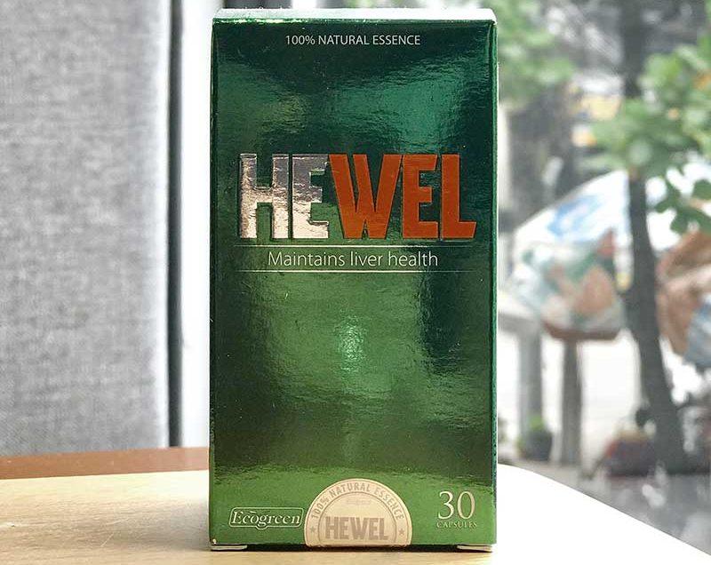 Hewel không phải là thuốc và không thay thế được thuốc chữa bệnh