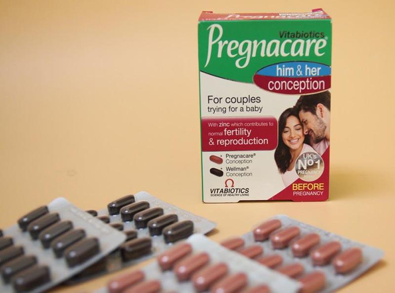 Trong một hộp sản phẩm có 2 vỉ cho nam và 2 vỉ cho nữ