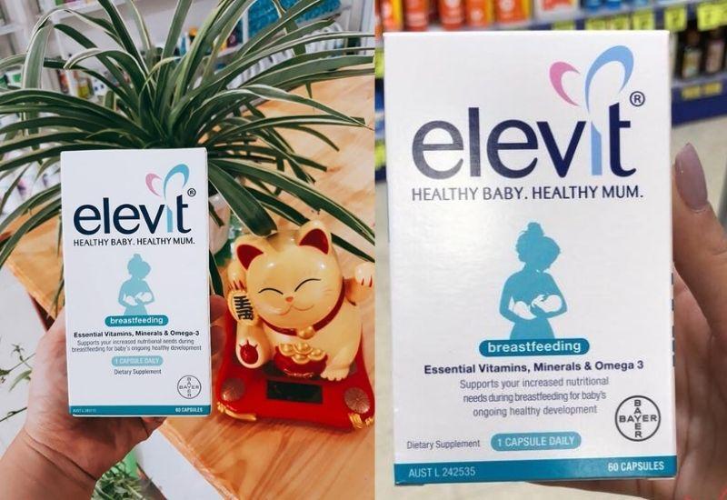 Sản phẩm bổ sung chất sắt, Canxi và vitamin D tốt cho mẹ sau sinh