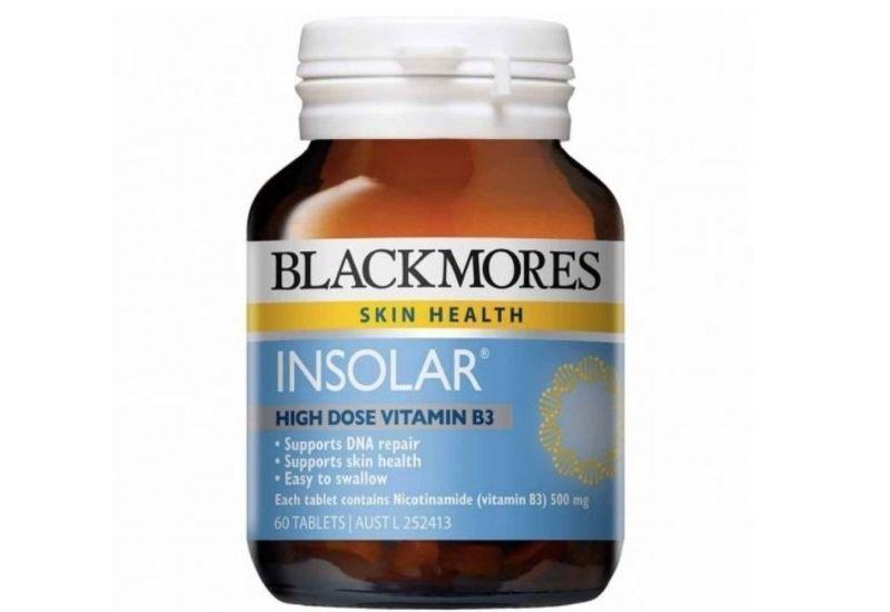 Viên uống Blackmores Insolar High Dose Vitamin B3 an toàn cho người dùng