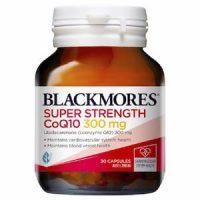 Viên uống hỗ trợ tim mạch Blackmores Super Strength Coq10 300 mg