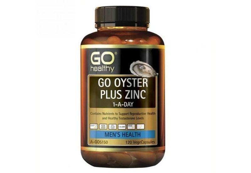 Viên uống tinh chất hàu Go Oyster Plus Zinc hàng nhập khẩu