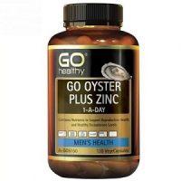 Go Healthy Go Oyster Plus ZinC tinh chất hàu 120 viên