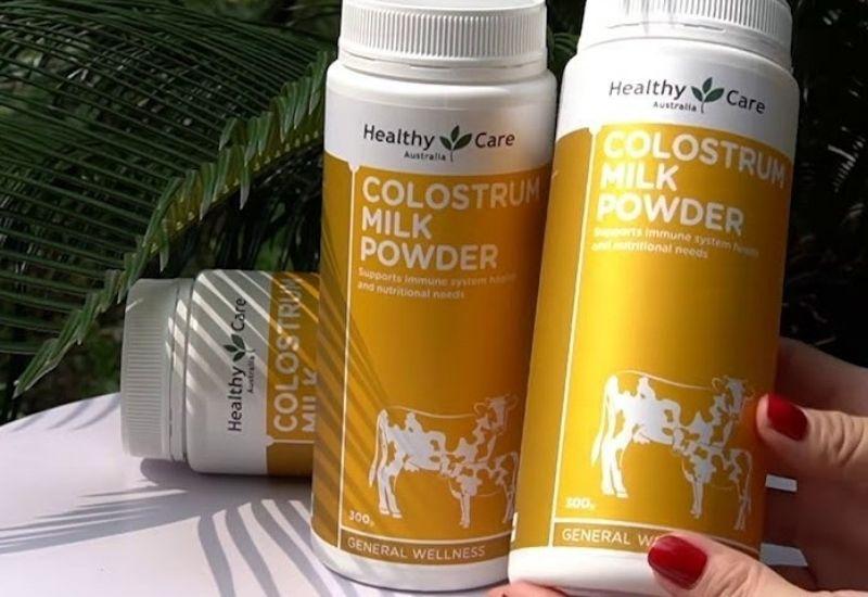 Sữa bò non Healthy Care Colostrum Milk Powder 300g rất tốt