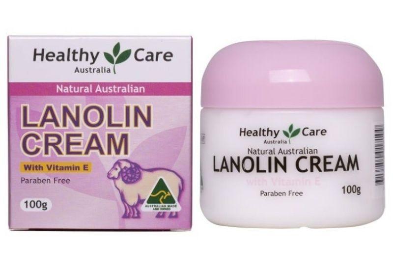 Sản phẩm kem nhau thai cừu Lanolin Cream With Vitamin E