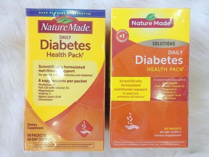 Viên uống điều hòa đường huyết Nature Made được nhiều chuyên gia đánh giá cao