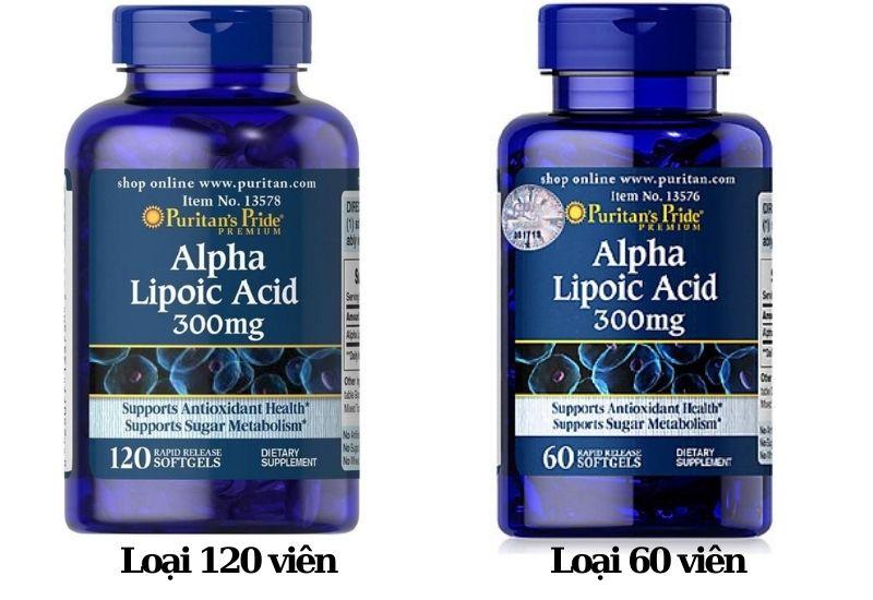 Viên uống Alpha Lipoic Acid 300mg tốt cho người dùng