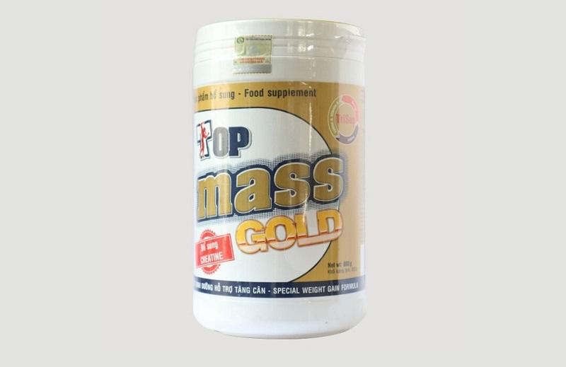 Top Mass Gold là thực phẩm chức năng bổ sung dinh dưỡng cho người gầy