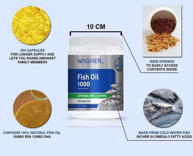 Dầu cá Fish Oil Wagner sở hữu nhiều ưu điểm nổi trội