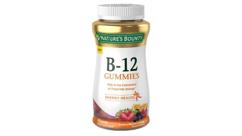 Kẹo dẻo bổ sung vitamin B12 Nature's Bounty B12