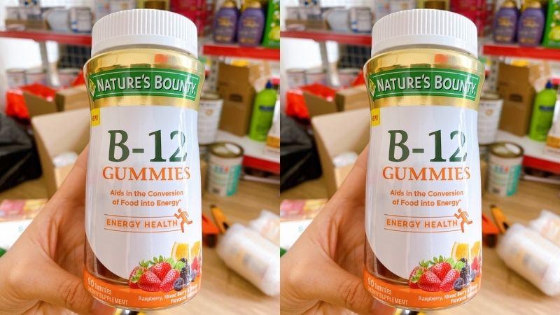 B12 Natures Bounty được người dùng đánh giá cao