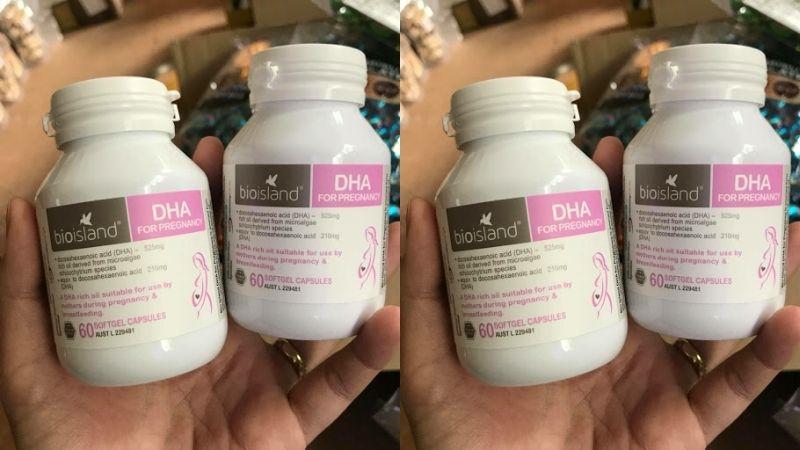 Sản phẩm DHA Bio Island bà bầu có ưu điểm gì