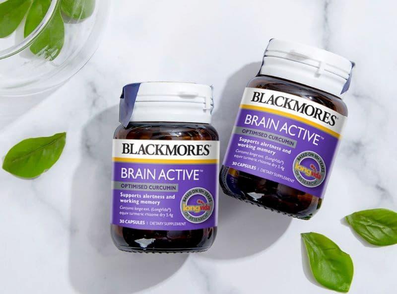 Blackmores Brain Active là sản phẩm của thương hiệu Blackmores nổi tiếng của Úc