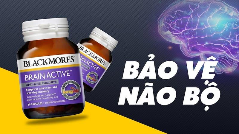 Blackmores Brain Active nên sử dụng hàng ngày với liều lượng 1 viên/lần