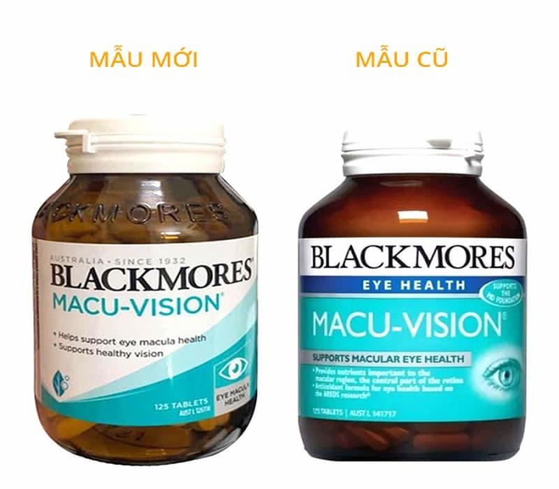 Viên uống bổ mắt Macu Vision Blackmores