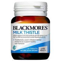 Viên uống Blackmores Milk Thistle từ Úc thải độc gan hiệu quả