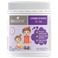 Bột Bio Island Lysine Starter cho trẻ dưới 6 tuổi của Úc