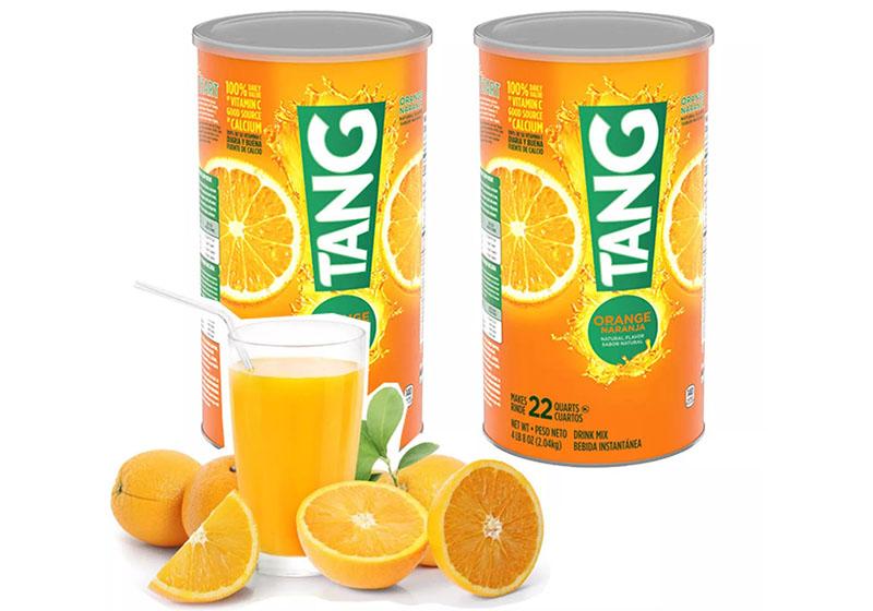 Tang Orange Naranja cung cấp vitamin, giúp cơ thể thanh nhiệt