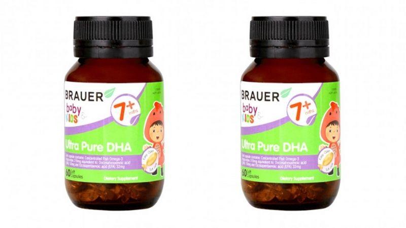 Những ưu điểm nổi bật nhất của viên uống bổ sung DHA Brauer
