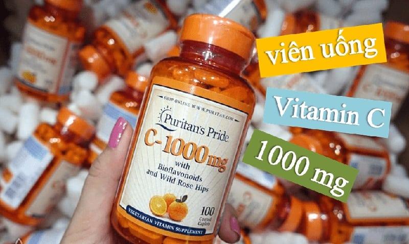 Vitamin C-1000mg Puritan's Pride mang lại nhiều lợi ích sức khỏe