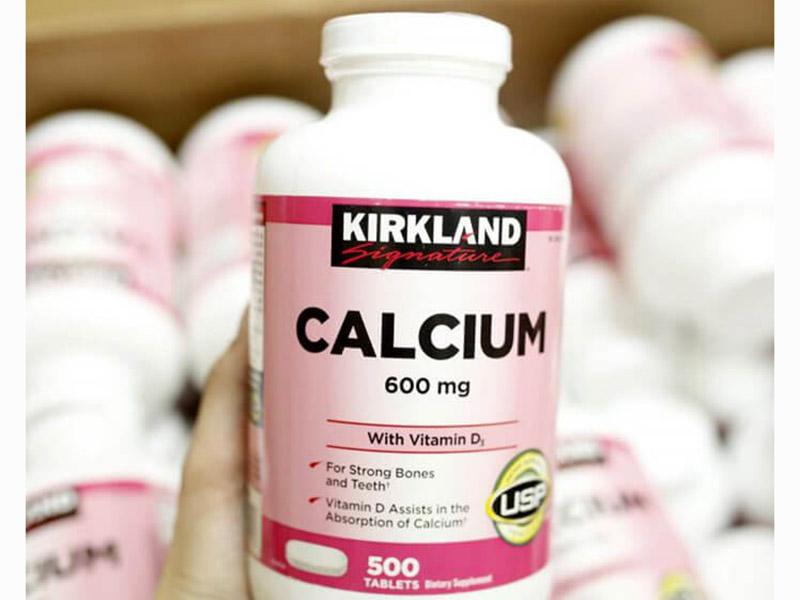 Kirkland Calcium 600mg + D3 có xuất xứ từ Mỹ