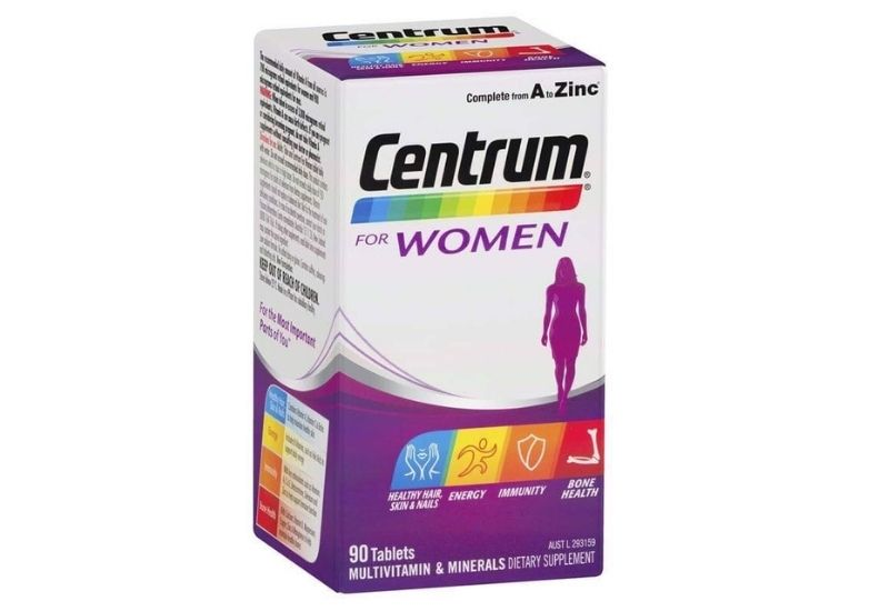 Sản phẩm Centrum for Women được nhiều người tin dùng