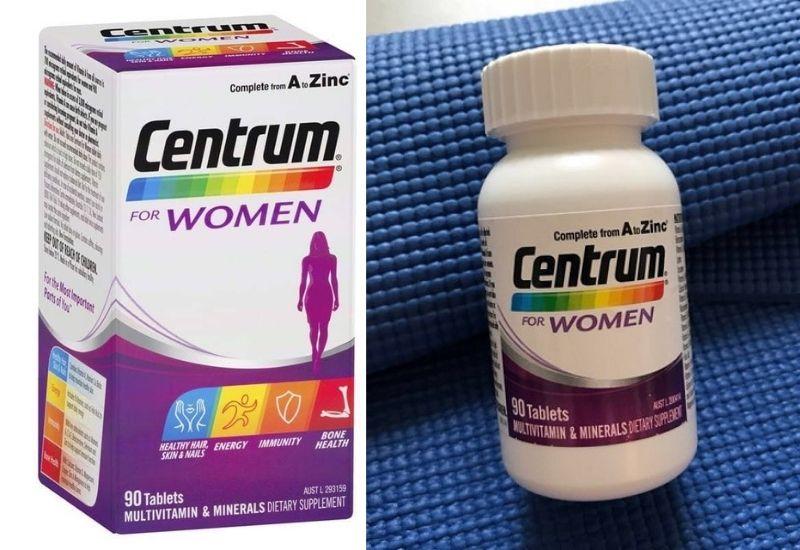 Centrum cho phụ nữ từ 18 - 50 tuổi nên dùng