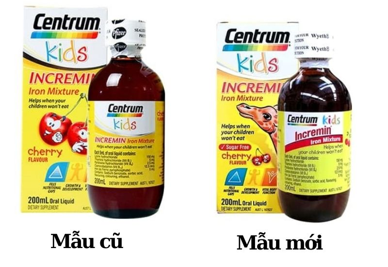 Sản phẩm Centrum Kid cho bé biếng ăn