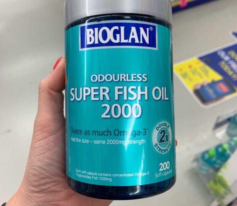 Mỗi ngày bạn nên dùng một viên dầu cá Super Fish Oil của Bioglan để cải thiện sức khỏe