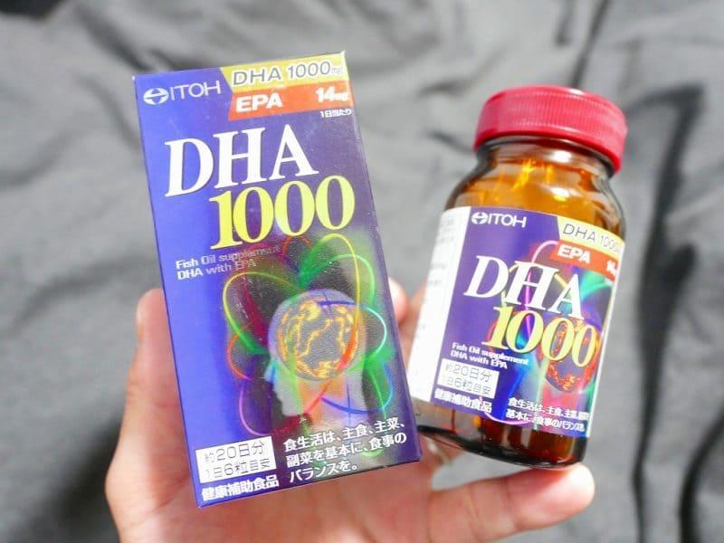 Bao bì sản phẩm DHA 1000mg