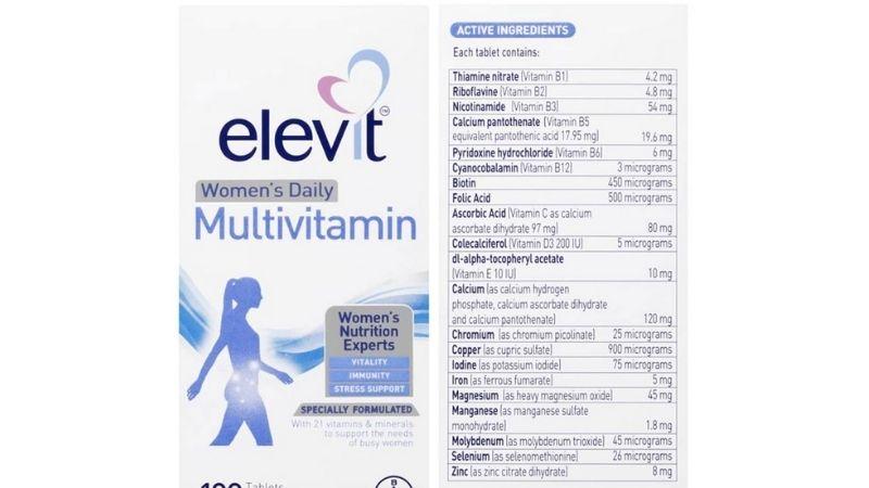 Thành phần của Elevit Multi