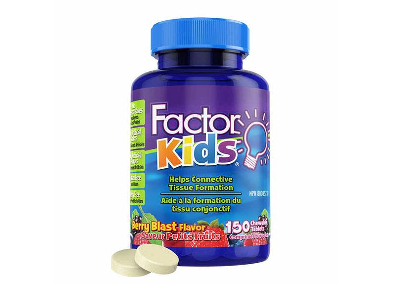 Kẹo bổ não Focus Factor For Kids là lựa chọn của nhiều phụ huynh