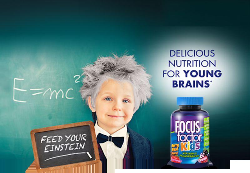 Kẹo phát triển trí não cho trẻ Focus Factor sở hữu nhiều ưu điểm vượt trội