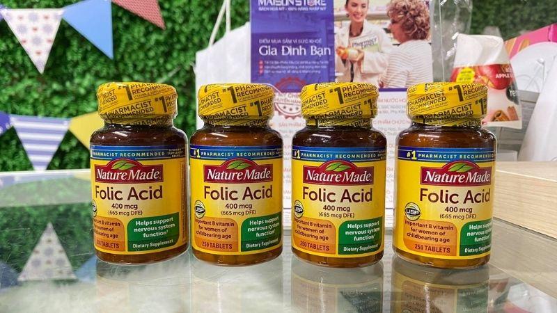 Những ưu điểm nổi bật nhất của acid folic