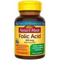Viên uống bổ sung Folic Acid 400mcg