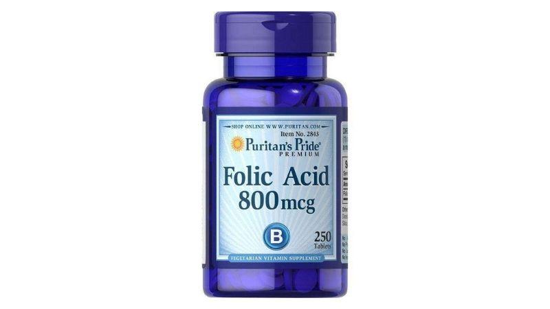 Viên uống bổ sung Folic Acid 800mcg