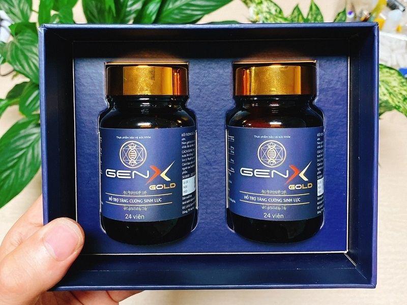 Viên uống Gen X hỗ trợ sinh lý nam
