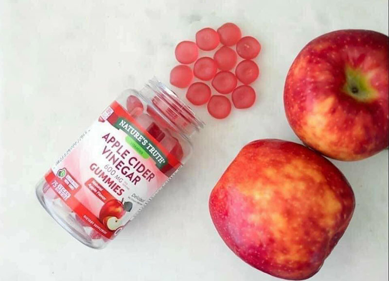 Sản phẩm kẹo dẻo giấm táo giảm cân Goli Nature's Truth